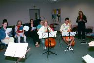 Voices and Viols class:  Cayla, Susan, Marilyn, Ruth, Gerry, Dave.