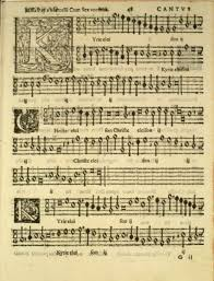 Image of chant music